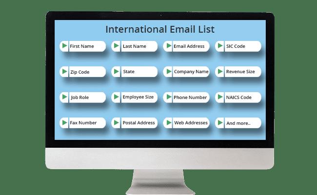 International Email List