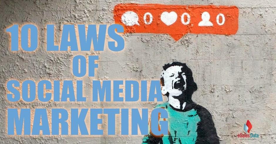 social media marketing laws