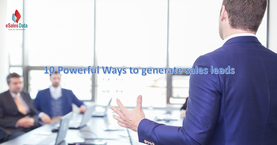 10 methods to generate sales leads