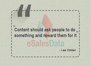 Content should ask people to do something and reward them for it