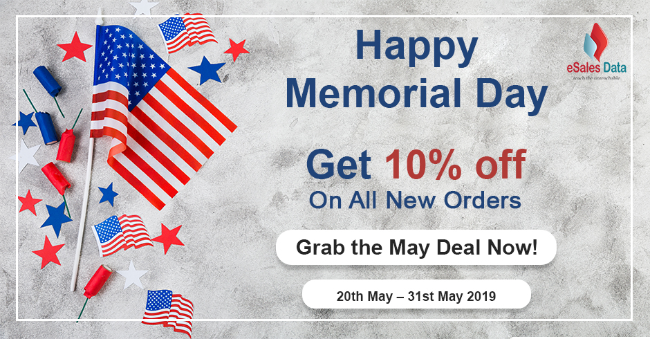 Memorial Day Offer