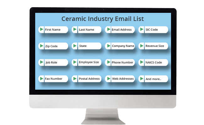 Ceramic Industry List