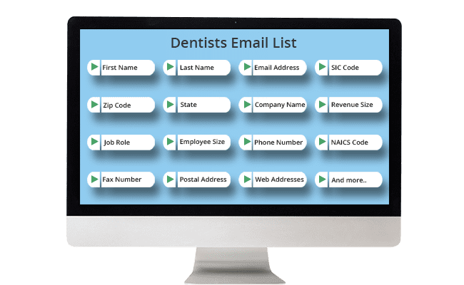 Dentists Email List