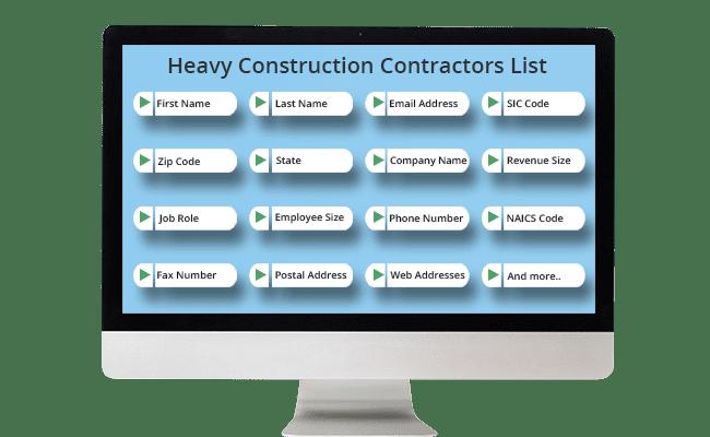 heavy construction contractors