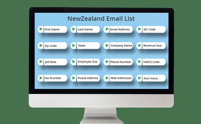 NewZealand Email List