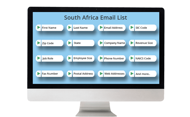 south africa email list