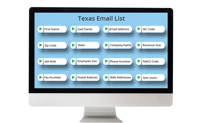 texas email list