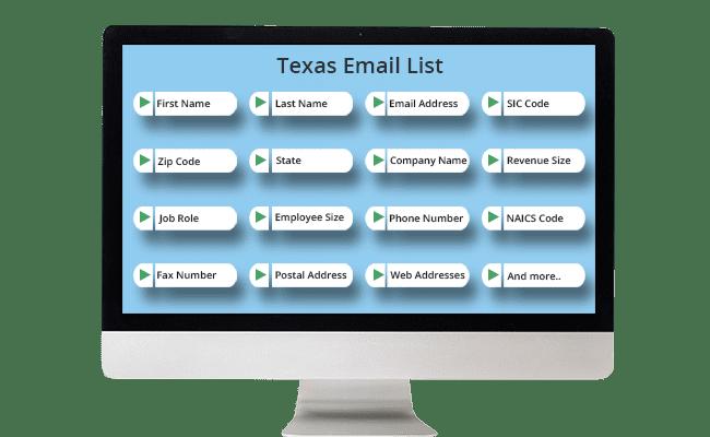 texas email list