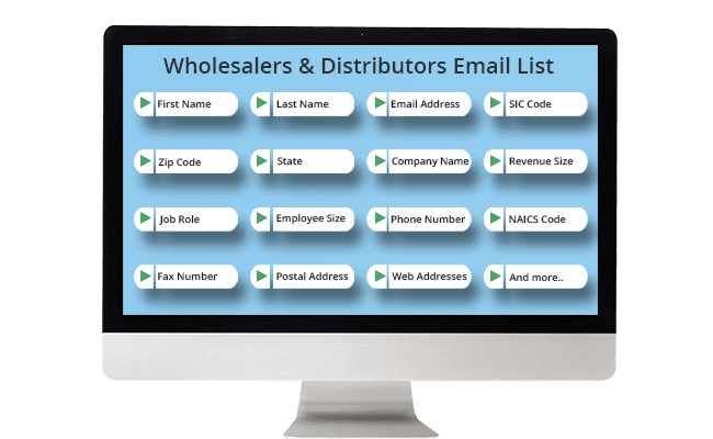 wholesalers email list